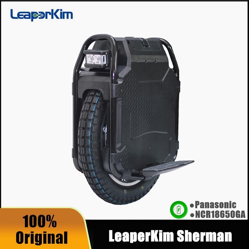 Оригинальный липерким ветеран Sherman Unicycle 20 '' MonowHeel 100.8V 3200WH Panasonic аккумулятор 2500 Вт Самостоятельный баланс электрический скутер