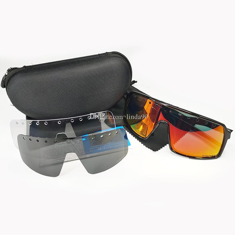 Marca óculos de ciclismo de bicicleta bicicleta ciclismo óculos de sol adequado estrada montanha ciclismo polarizado lente moda exterior Óculos 9406