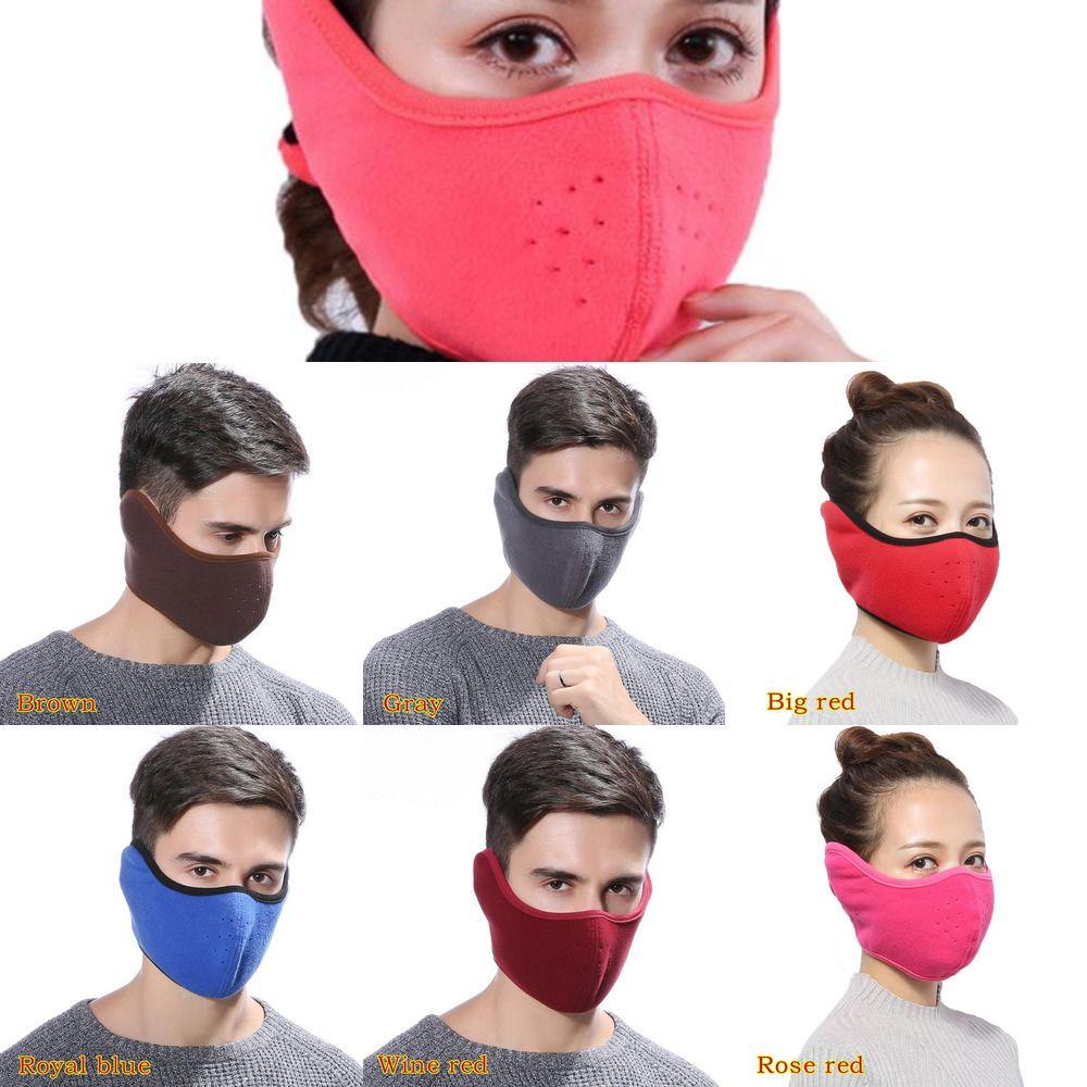 Pamuk Ağız Adispute Unisex 2 Kepçe Kulaklıklar 1 Maskeleri Kış Moda Erkekler Kadınlar Açık Sıcak Windproom1A1