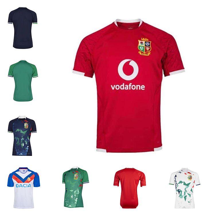 2020 2021 Britânica Lions Irlandês Rugby Jersey 20 21 Lions Britânicos Adulto de Alta Qualidade Rugby Camisa Tamanho S-5XL