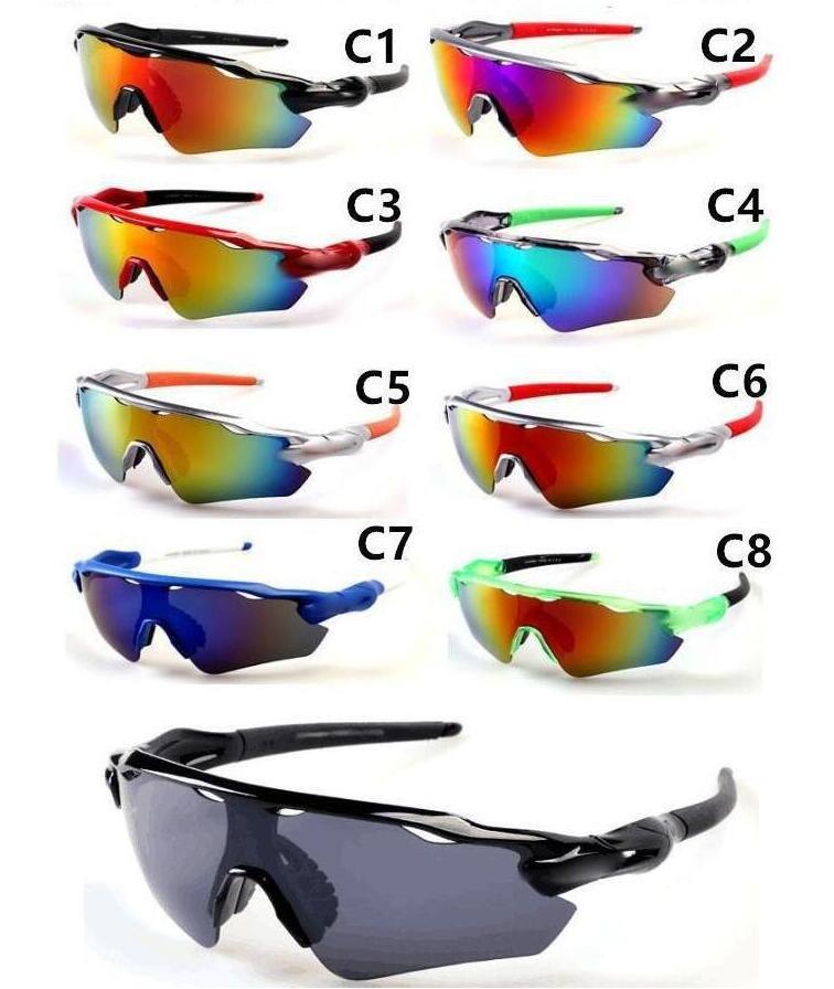العلامة التجارية مصمم دراجة زجاج الرجال النظارات الشمسية الرياضة إلى الذروة الدراجات النظارات الشمسية sports specesslass الأزياء انبهار اللون المرايا شحن مجاني