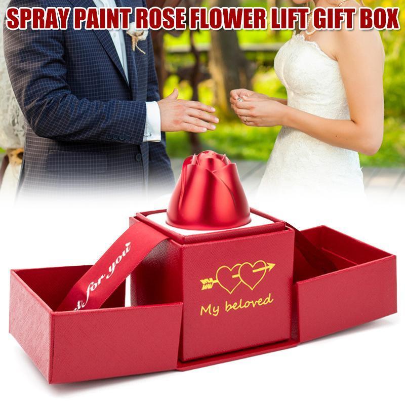 Hediye Paketi Mücevher Kutusu Organizatör Kolye Küpe Yüzük Depolama Kadınlar Günü için Sevgililer Günü Düğünler Doğum Günü Yıldönümü