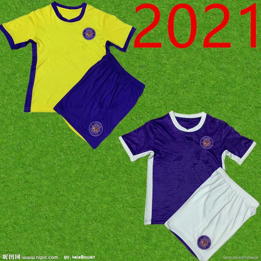 Toulouse FC soccer jersey 2020 2021 maillot de foot Home Away Rhys Healey Anriste Bayo Spierings Adli Men kits football shirts Uniforms