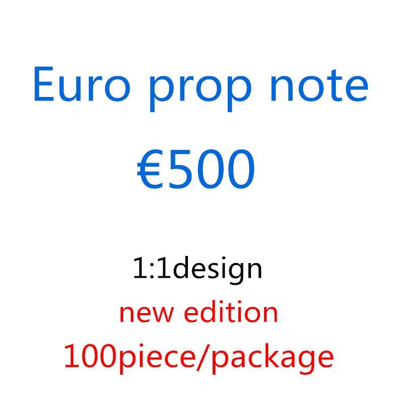Euro Shooting Kopie Geschenke Banknoten Factory Requisiten Magie 1: 1 Spielzeug M9 Movie Euro Requisiten Design Großhandel Kinder Due Heigh Sqkbq