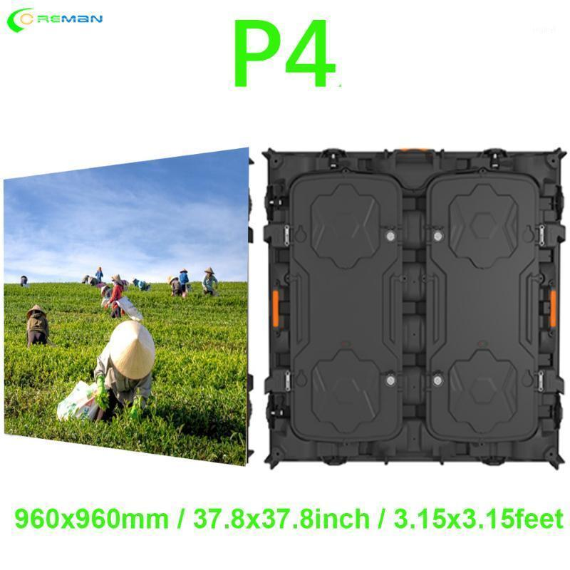 Exibir 96x960 Indoor RGB HD P4 LED Módulo Módulo Gabinete de Vídeo P25 P3.91 Painel Full Color Screen1