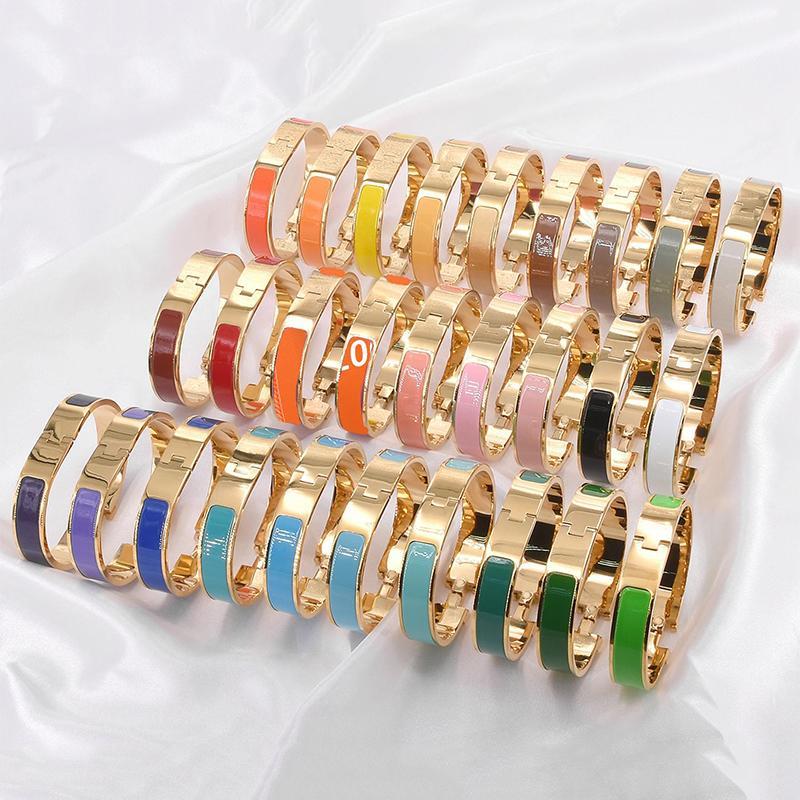 Designer New Couple H Buckle Bracelet Luxury Jewelry Women's Bracelet Men's Luxury Fashion Gold Bracelet Original Box