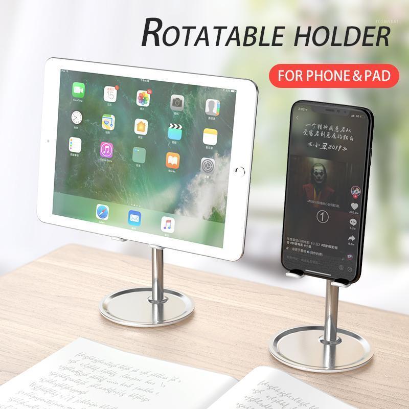 Soporte de soporte para teléfonos celulares Soporte de escritorio móvil Soporte para almohadilla Universal Ajustable Metal mesa de escritorio Tablet Stand1