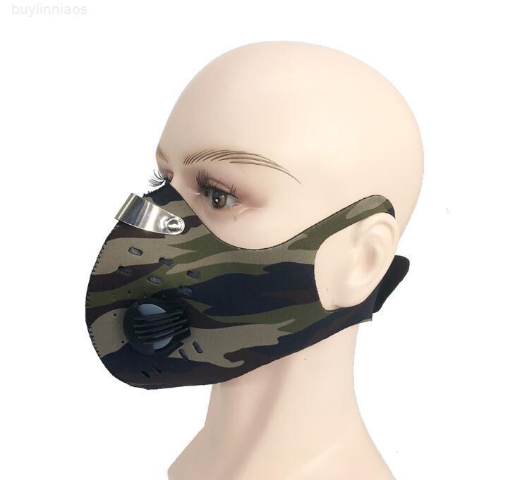 Дышащая губка для многоразовой моды мода маска загрязнения крышка анти пыль тактический мотоцикл велосипедный охотничий фильтр носа маски рот