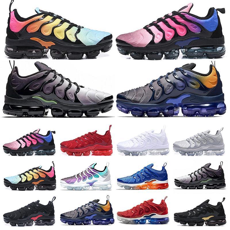 2021 Tn plus shoes  Лучший TN плюс кроссовки Мужчины Женщины шерсть серый игра Royal Tropical Sunset Creamsicle дизайнеры кроссовки спортивная обувь размер 36-45 B7326