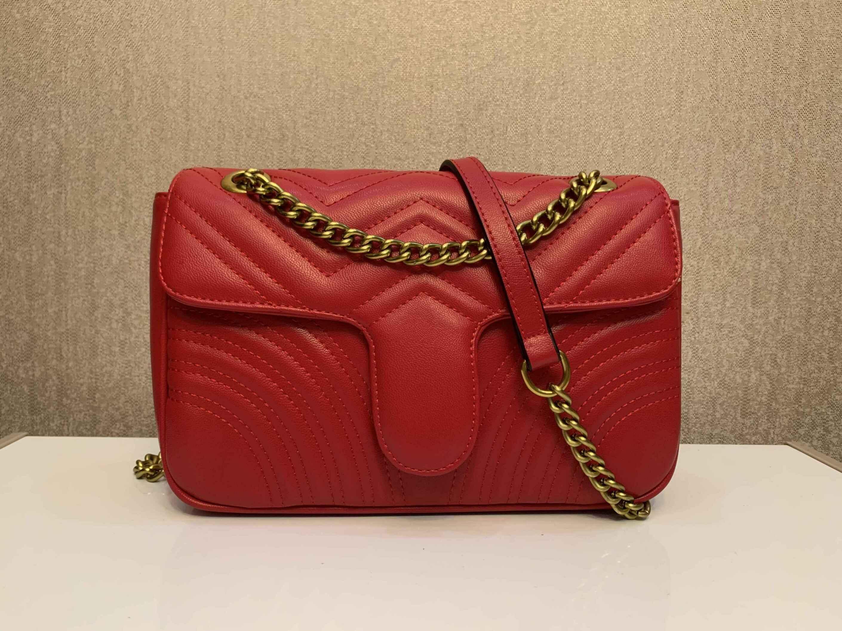 Sacs à bandoulière chaîne Sacs Marques 2018 Sacs à main de luxe Designer pour les célèbres femmes en cuir plissées dames principales une femme sac sac à main EGMUD