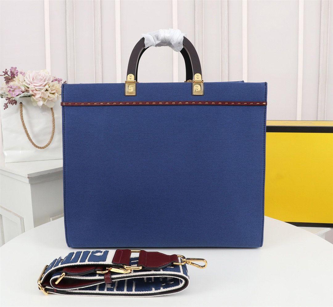Luxurys Designer Umhängetaschen Handtasche Einkaufstasche Handtasche Tag Importiert Leinwand Material Umhängetaschen Große Kapazität Messenger Bag