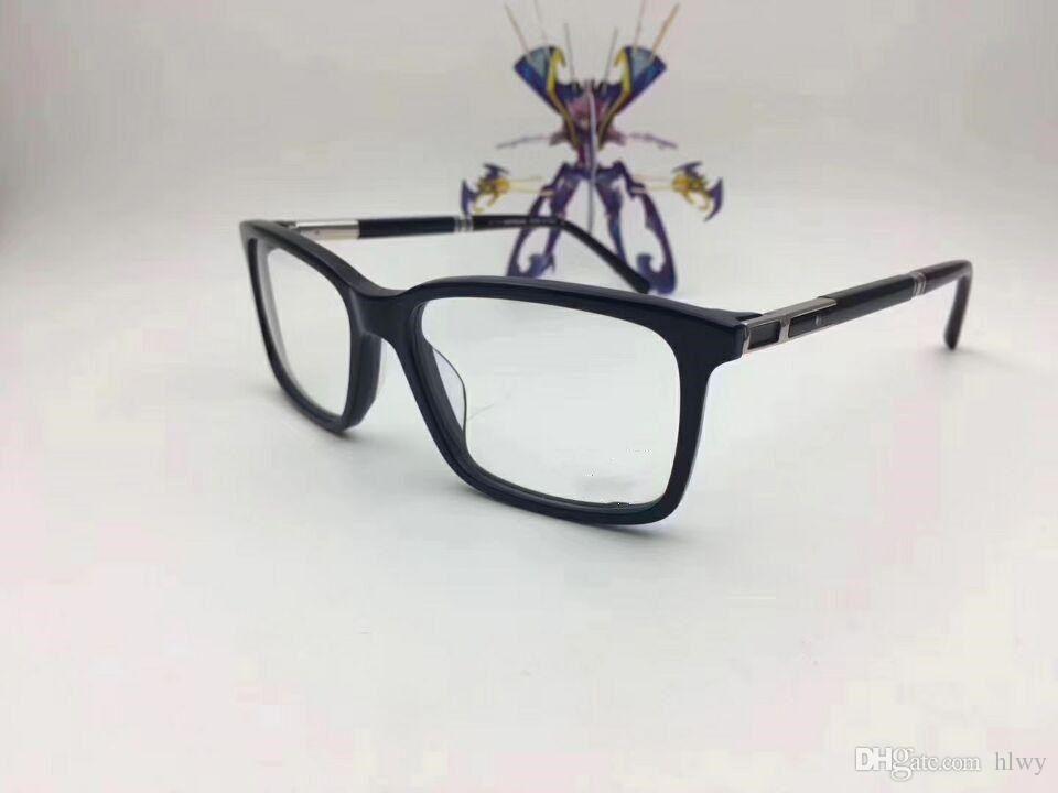 Wholesale-italien marque 0489 designer conçues lunettes cadre lunettes cadre mâle assortie à plat fini lumière myopique lunettes cadre