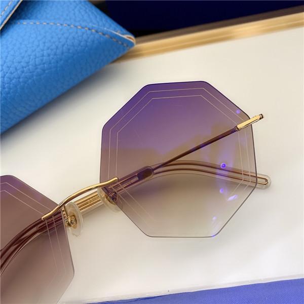 090 Модные солнцезащитные очки с ультрафиолетовой защитой для мужчин и женщин Винтажные овальные безмасштабные популярные топ-качество поставляются с корпусом Classic Sunglasse MTNT