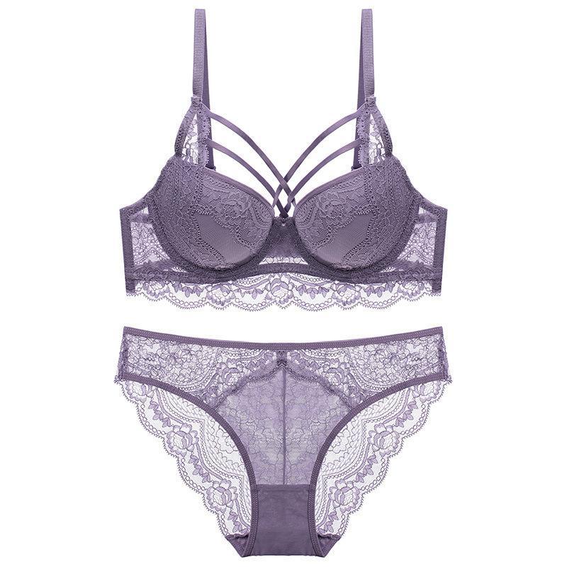 Estados Unidos pequenos seios juntos sobre o conjunto de sutiãs de renda sexy anteriores sexy beldade sexy back ladies underwear Bra C1211