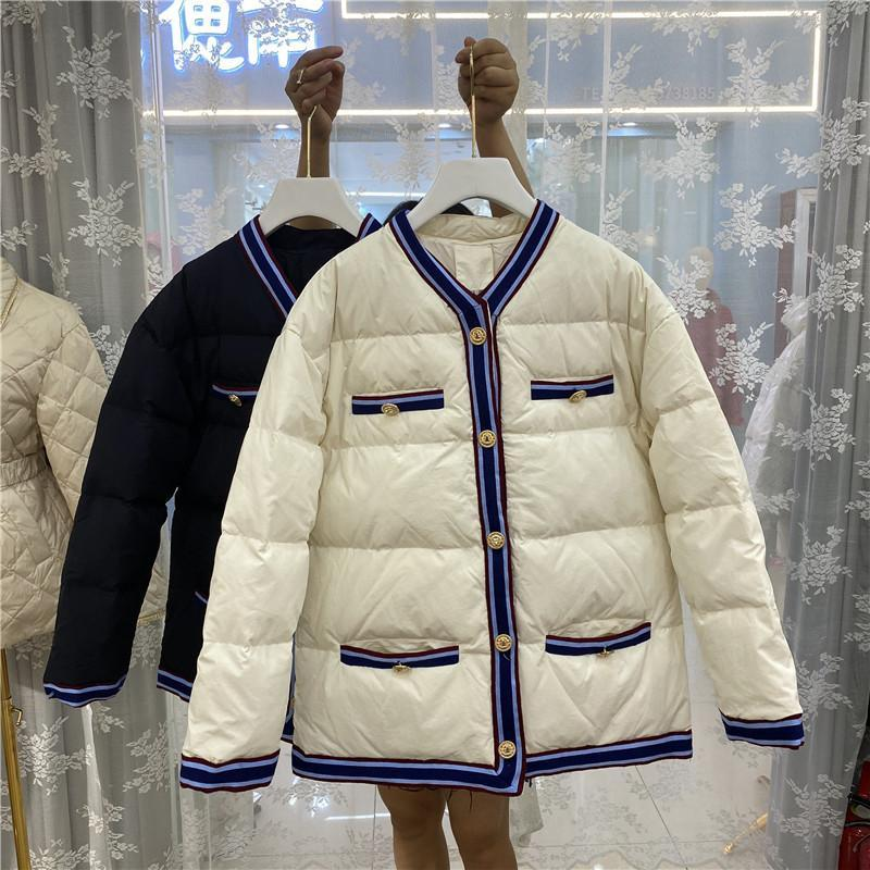 Sıcak Moda Kadınlar Kış Ceketler Yüksek Kalite Kadın Aşağı Ceket C567