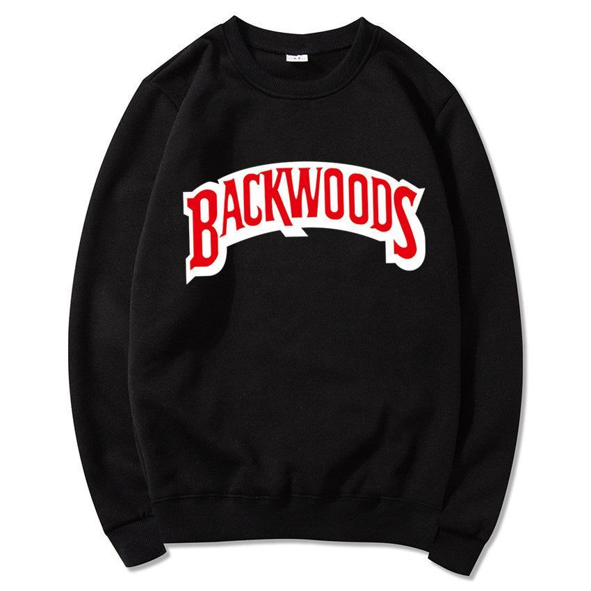 Üst Backwoods Hoodie Bireysel Kaya erkek T-Shirt Kazak Mektup Baskı Moda Rahat Kazak Kazak Uzun Kollu Erkek Hoodies
