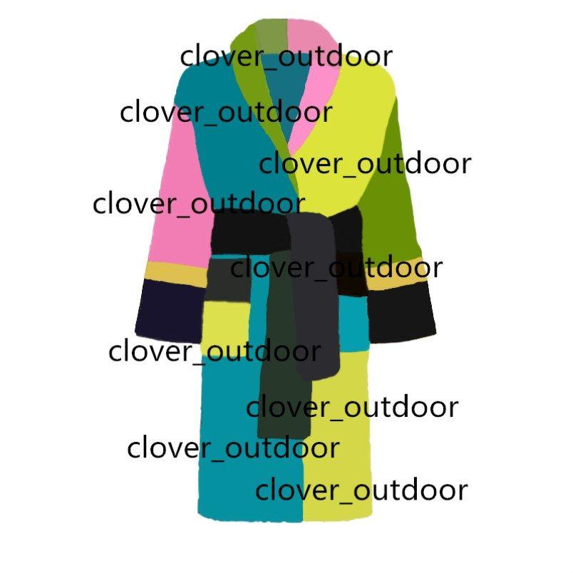 Designer Brand Accappatobo Delle Donne Uomo Unisex Sleep Robe 100% cotone di alta qualità 6 colori Vendita calda Shiping Ship da DHL UPS FedEx KLW1739