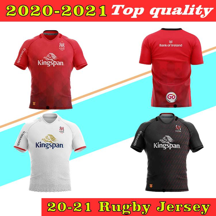 2021 Ulster Rugby Jerseys Home Away Kukri Tamaño S-5xl Shirt Maillot de Rugby Ulster National Rugby League