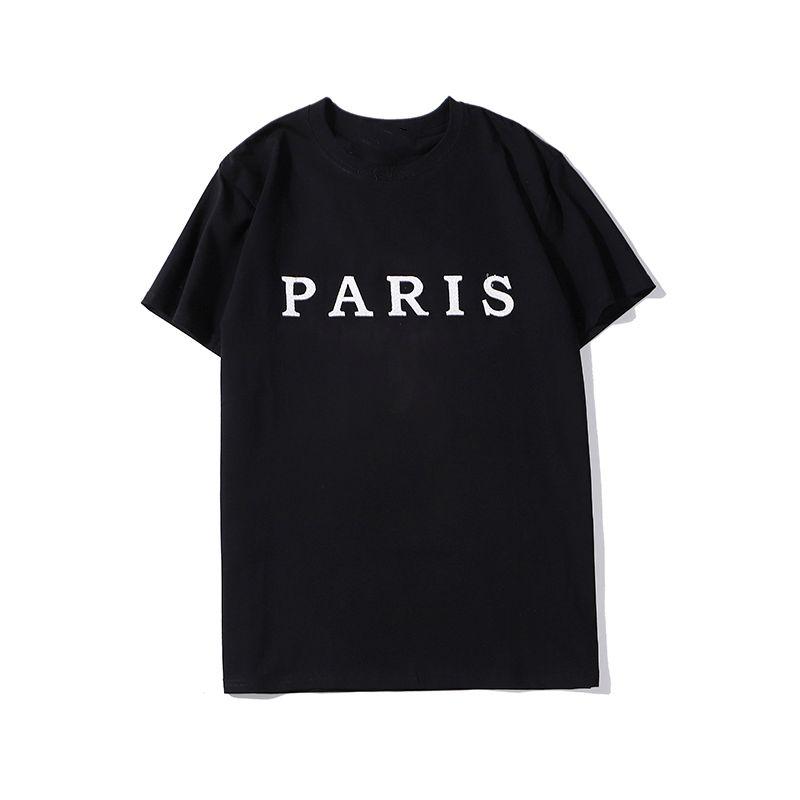 Designer de luxo impresso camisetas moda personalidade homens design camisa mulheres t-shirt de alta qualidade preto e branco s-xxl