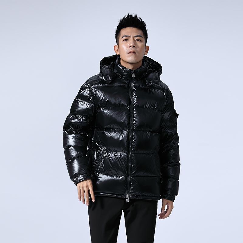 2020 inverno Warm White Duck Duck Down Giacca uomo Cappotto Uomo spesso da uomo con cappuccio Sport Men's Cappotti Abbigliamento maschile Capispalla Y1112