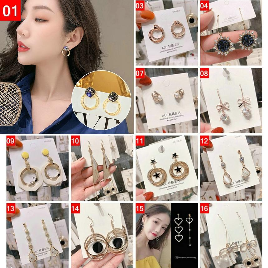 Designer earrings Tassel Long Dangling Drop earrings Gold Silver Earrings quilling Crystal Bar Party Wedding Jewelry Mix DHL