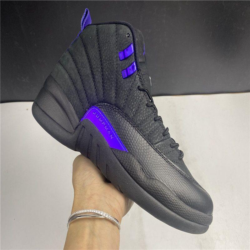 Новый 12 Камень Dark Concord Обратного Flu Game OVO Белого Мужчины Баскетбол Обувь 12s Плей Французского Темно-синие кроссовки с коробкой