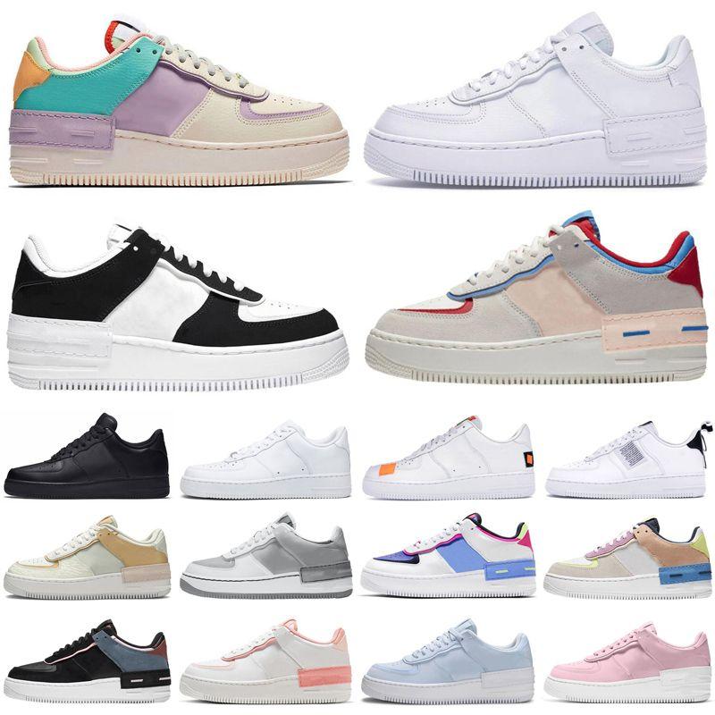 2020 Shadow Homens Mulheres Sapatos De Sapatos Triple Preto Branco Pálido Marfim Aurora Aurora Mens Domens Trainers Esportes Tênis Tamanho 36-45