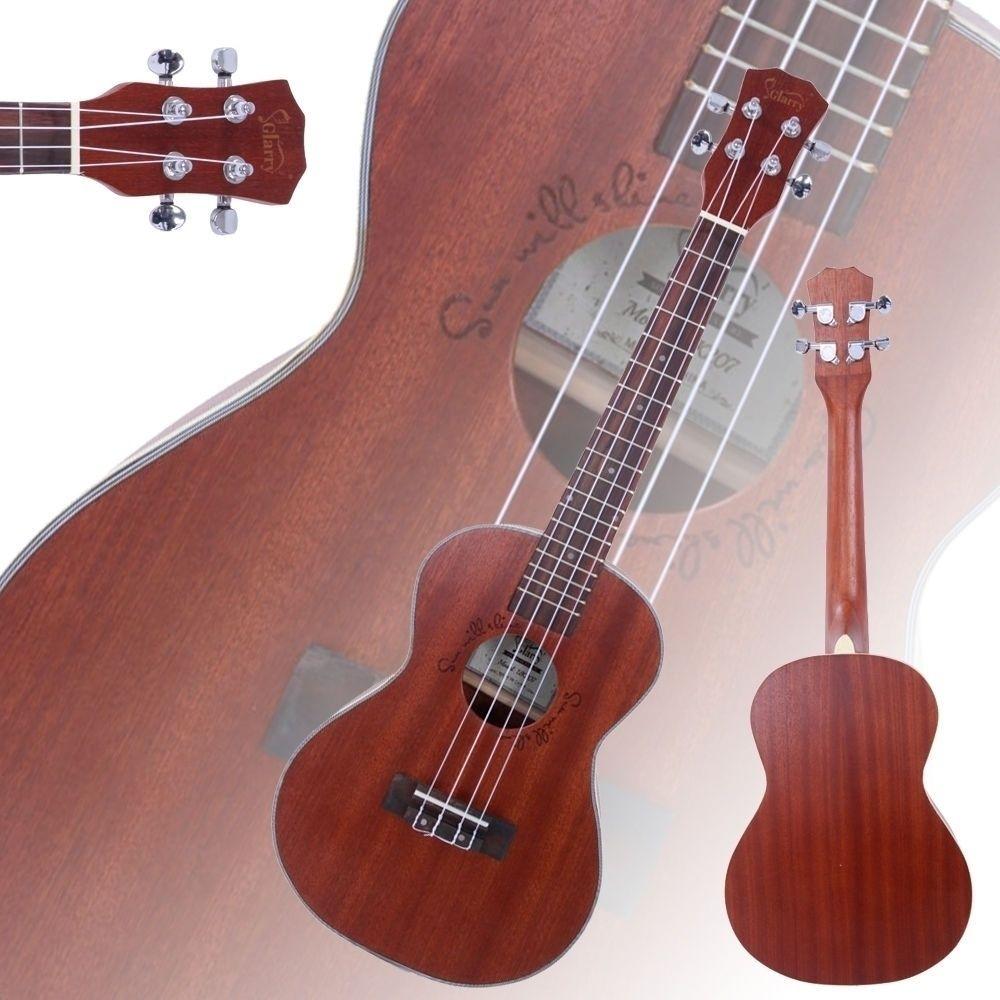 26 дюймов 18 Фретов Сапеэле Акустический Тенор Укулеле 4 Строки Гавайская гитара для начинающих корабль из США