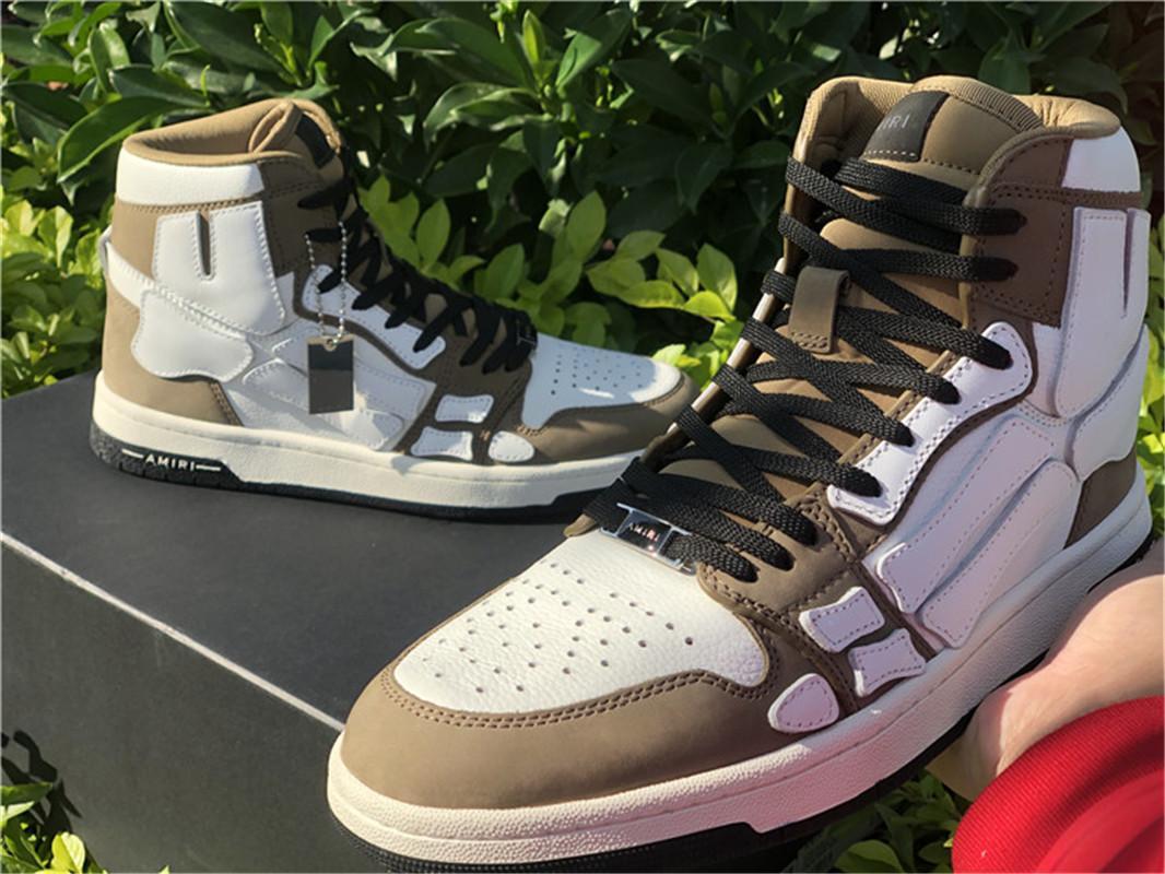 2021 Yüksek En Kaliteli Erkek Kadın Basketbol Ayakkabıları Haki Gri Üçlü Siyah Beyaz Moda Spor Sneakers Tasarımcı Eğitmenler Ayakkabı Boyutu 38-45