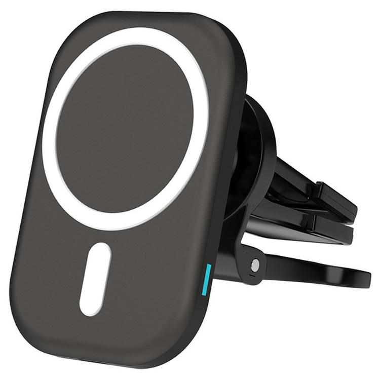 15W Wireless Charger Automatic Magnetic Adsorption Car Mount Phone Holder For iPhone 12 Pro MAX mini QI Fast Charging Car Stand