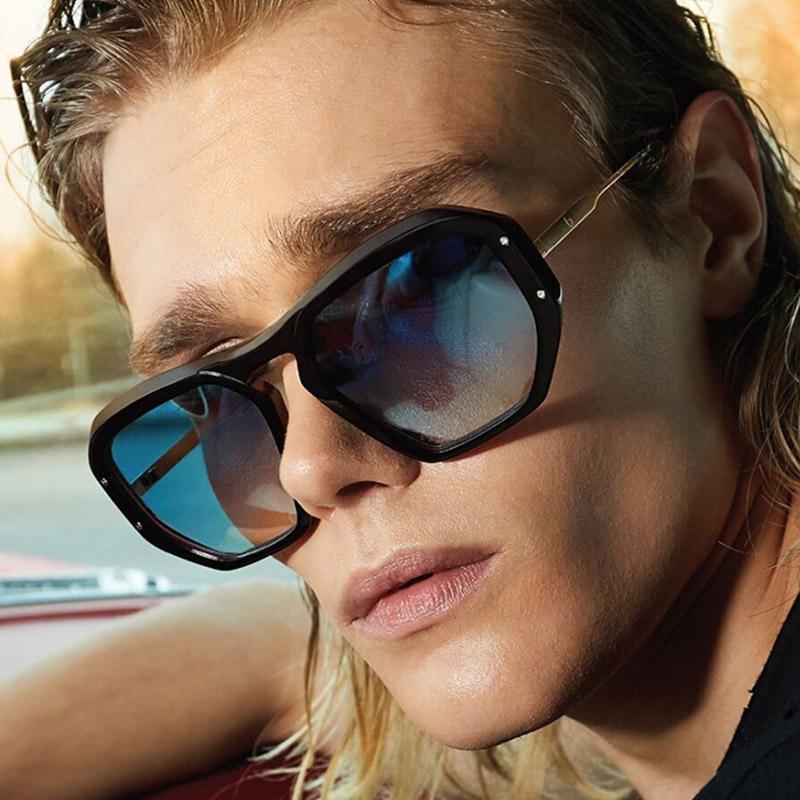 Мужская мода вождения солнцезащитные очки UV400 кв.