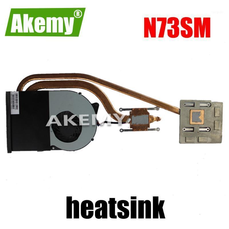 Original Laptop For Asus N73S N73SV N73SM N73J N73JF N73JQ N73JG heatsink & fan CPU FAN free shipping heatsink1