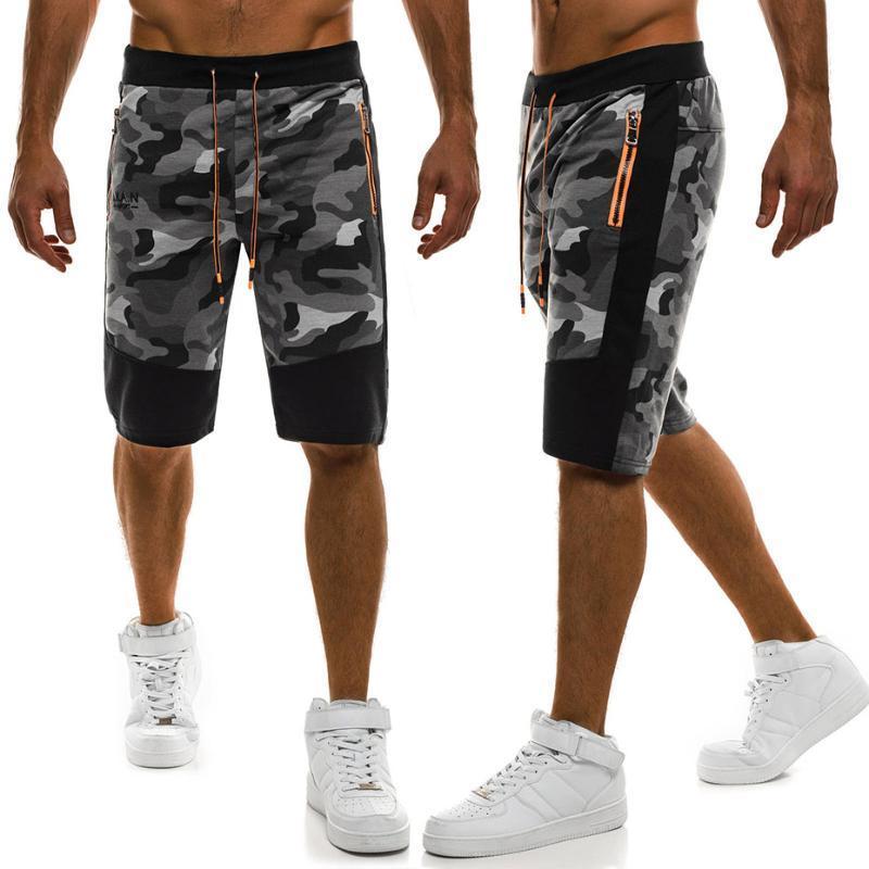 Мужские шорты Zogaa 2021 повседневные мужчины летний топ дизайн камуфляж пляжные брюки Homme хлопка мода одежда