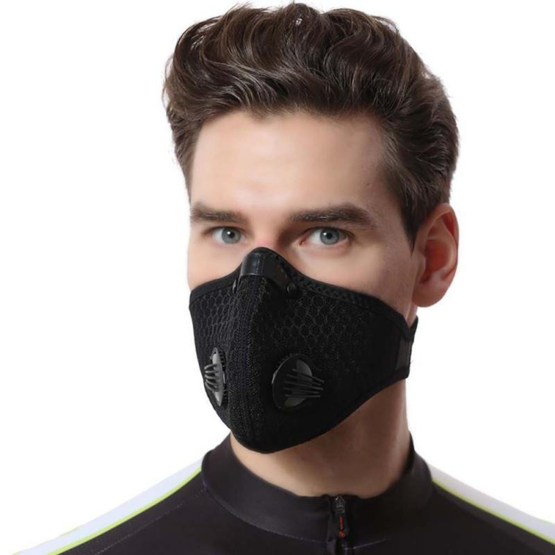 Masken Anti Staub Zyklus Maske Schleier Guard Radfahren Gesicht Masken Frauen und Männer Fahrrad Sport Reiten Radfahren Winter Warmgesicht