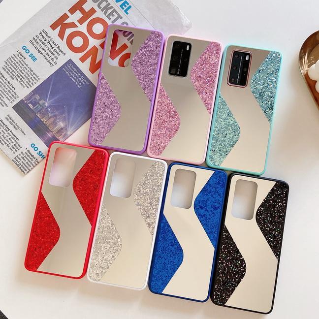 Новое Прибытие Макияж Зеркальное Чехол Болтер Блен Шкаф для мобильного телефона для Huawei P40PRO P SMART 2019 PSMART Z Y7 2019