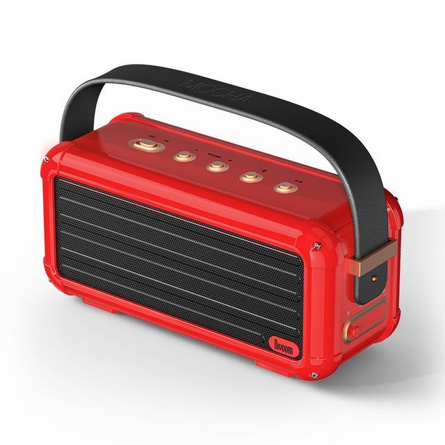 40W Superior Bass Wireless Bluetooth Altavoz Retro Diseño 6 Controladores para 25h Playtime Smart Home Decoration