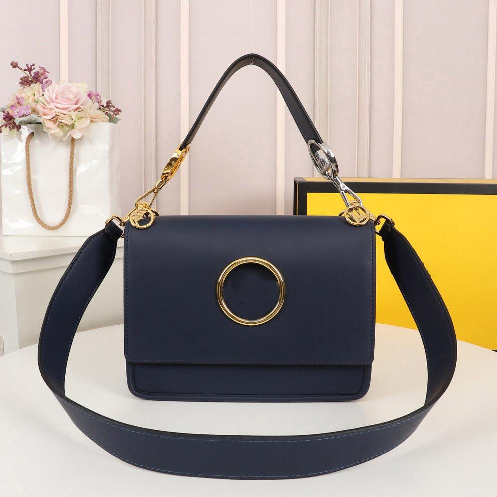 Hochwertige Umhängetasche Designer Messenger Bag Top Schicht Ledermaterial Umhängetasche Briefdekoration Umhängetaschen Mode Lässig