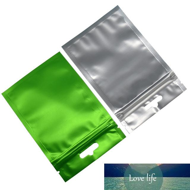 Reclosable Plastic Zip Lock Packing Bag Matte Clear Aluminum Foil Packing Storage Bags Grocery Package Poly Bags