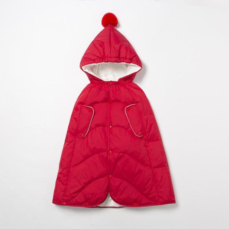 Плюс бархатное утолщение может выйти на ребенка вниз куртка шаль младенца выйти теплый ветрозащитный пальто мальчика зимние детские пальто одеяло1