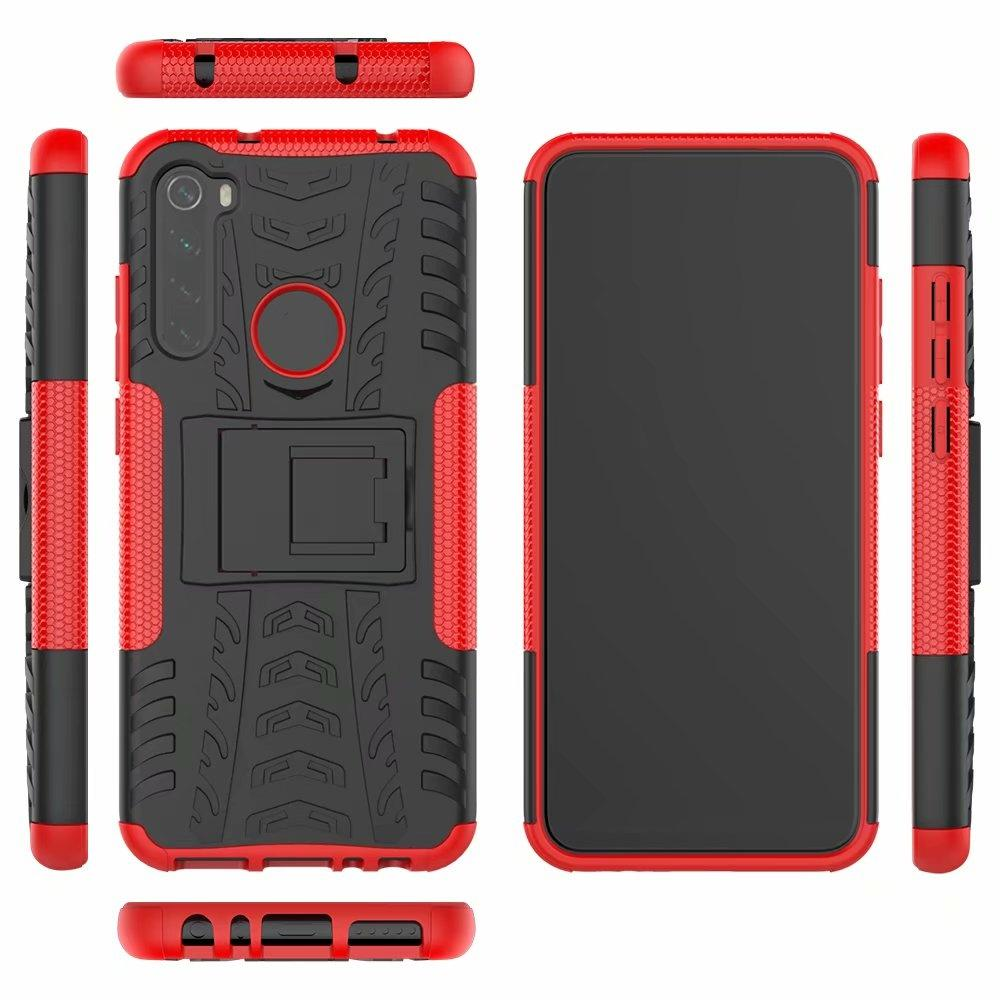 2 in 1 Comb Armor Hybrid back Case For Xiaomi 10 redmi K30 Poco X2 note 8 8T 10 9 lite CC9