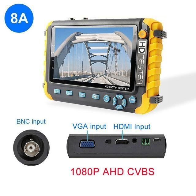 Security & Protection 8MP CCTV Camera video ahd ip Video camera Tester mini ahd Monitor 4 in 1with VGA