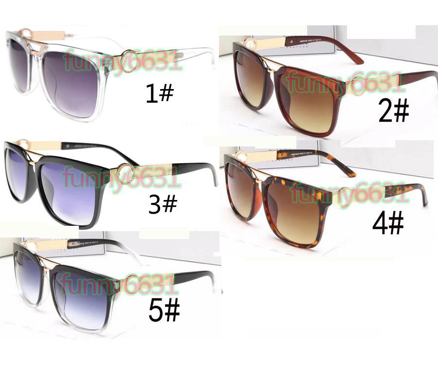 Sommaire Femme Sunglasses à vélo en métal Mesdames UV400 Sun Lunettes Mens Sunglasse Drivoulement Lunettes de soleil Verres Sunglasses Noir Sun Lunettes Free S