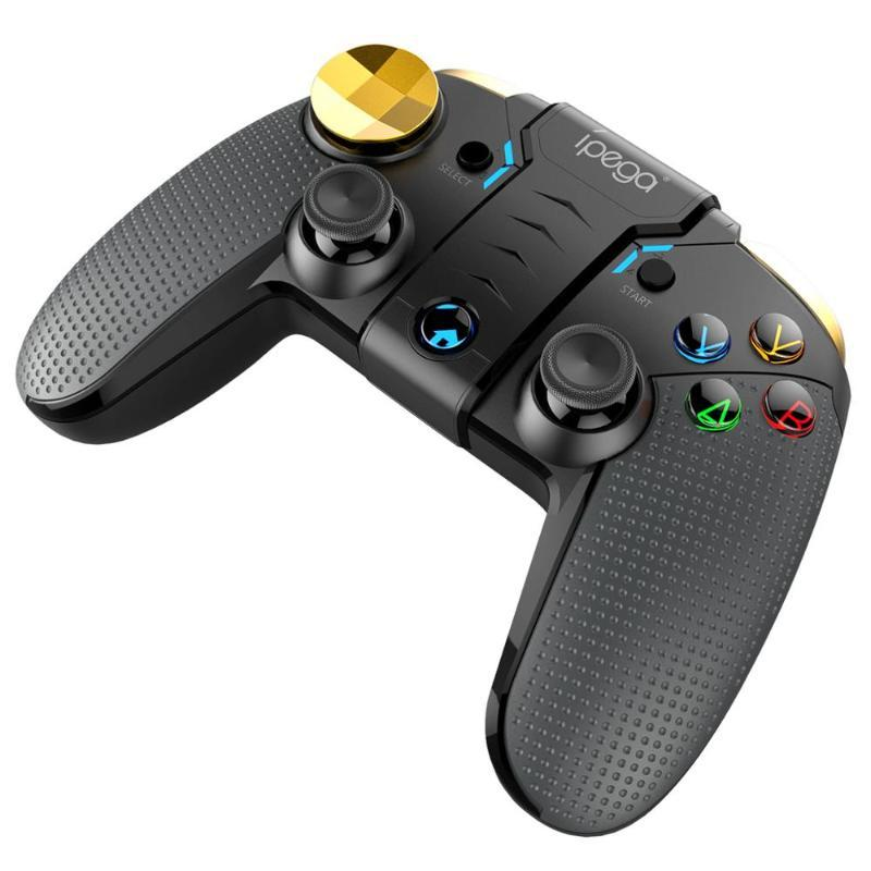 Controller di gioco Joysticks Ipega Pad Bluetooth Gamepad Controller Mobile Pubg Trigger Joystick per Android PS3 Smart TV Box titolare del telefono P