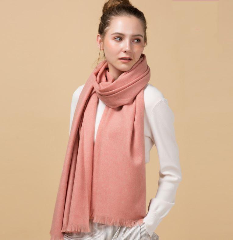 Bufanda de lanas mujeres suave larga bufanda invierno hembra chal Ponchos y capes Hijab Wrap Manta 70 * 200 cm Manteau Femme HIVE