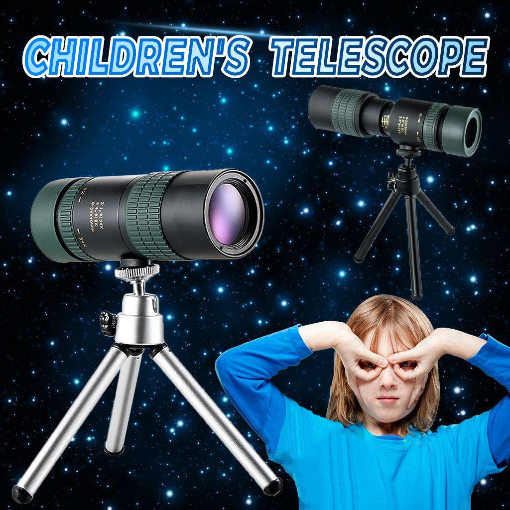 8-24 * 30 Непрерывное увеличение Монокуляры высокой мощности для детей Портативный очки бинокли высокого качества Hd Охота Оптика Scope