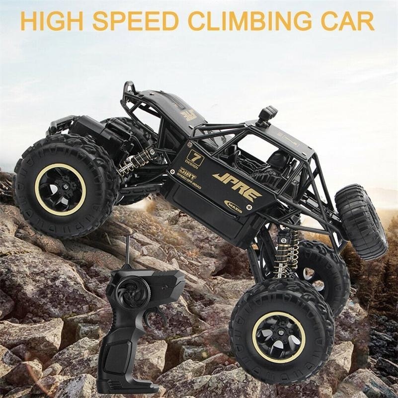 Высокоскоростное восхождение на грузовик Детские игрушки Off-Road Monster Buggy 2.4G Дистанционное управление RC Автомобиль Жест Ощущение WLTOYS 201218