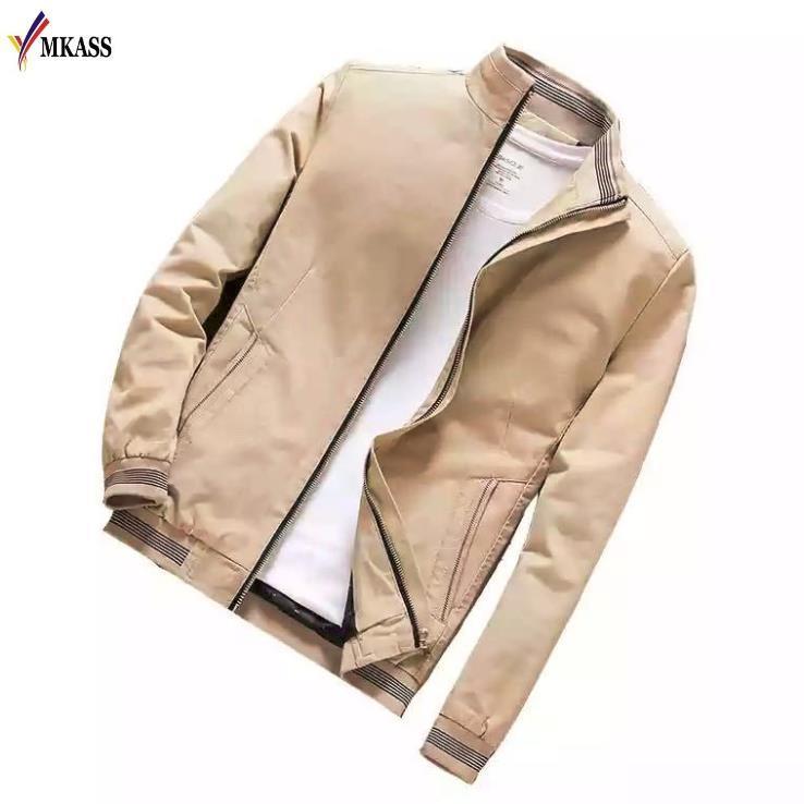 2020 erkek Bombacı Ceketler Veste Homme Rahat Sonbahar Erkek Dış Giyim Rüzgarlık Standı Yaka Ceket Erkek Ince Coats Boyutu 5XL