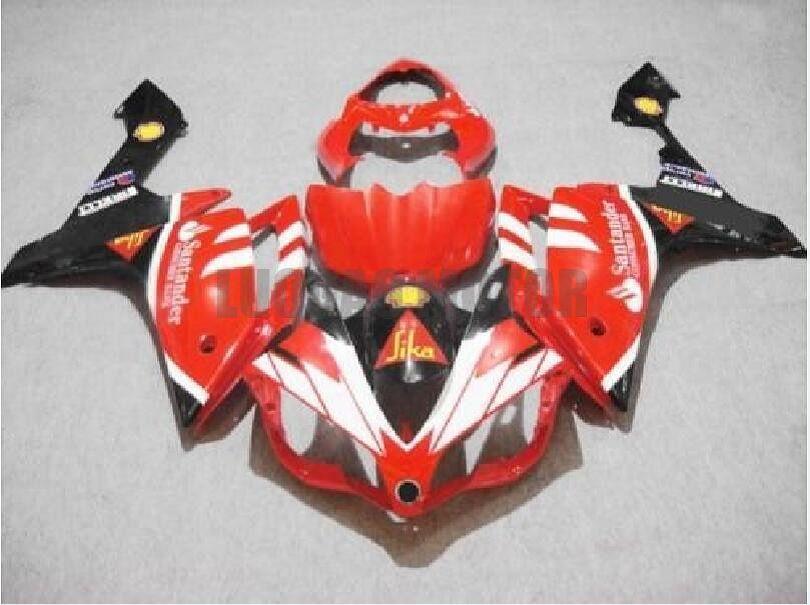 Injection Fairings for red white black YAMAHA YZF R1 2007-2008 Yamaha YZF 1000 07 08 YZF1000 2007 2008 body kits yzf r1 07 08 ABS bodywork