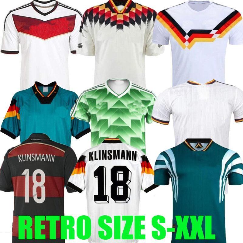 월드컵 1990 1992 1994 1988 독일 레트로 Littbarski 발락 축구 유니폼 Klinsmann Matthias 1998 2014 셔츠 Kalkbrenner 1996 2004 2006