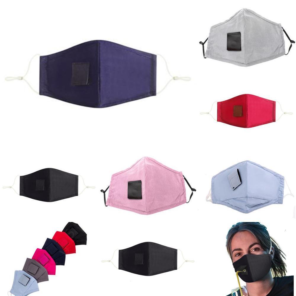 Içme Pamuk Yüz Maskesi Yetişkin Maske Ile Delik Çocuklar Için Saman Kullanımlık Yıkanabilir Toz Geçirmez Maske Açık Ağız Maskeleri Kapak DESM1A1